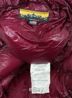 Western Mountaineering HighLite Sleeping Bag 35 Degree Down 6ft/LZ /45832/