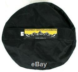 Western Mountaineering Kodiak MF Sleeping Bag 0 Degree Down 6ft/RZ /49375/