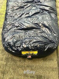 Western Mountaineering MegaLite 30F Down Sleeping Bag 6'6 Left Zip