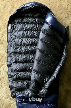 Western Mountaineering MegaLite Down Sleeping Bag 30 F 6ft 6in Right Zipper