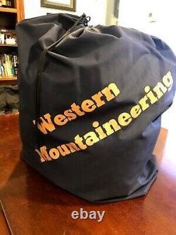 Western Mountaineering MegaLite Down Sleeping Bag 30 F 6ft Left Zipper