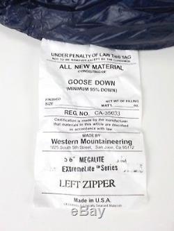 Western Mountaineering MegaLite Sleeping Bag 30 Degree Down /38621/