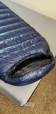 Western Mountaineering Megalite Sleeping Bag with 2 extra ounces of down (long)