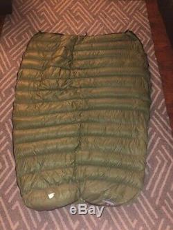 Western Mountaineering MityLite sleeping bag 850 Down quilt ultralight