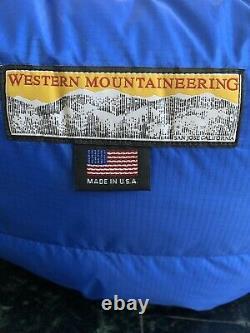 Western Mountaineering Puma GWS Sleeping Bag 66 Left Zipper