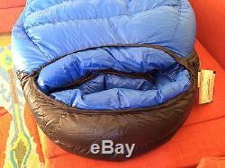 12cae7b888bc Western Mountaineering Puma Mf Sleeping Bag 6 6 Long -25 41oz 850down Ovfil  New