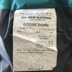 Western Mountaineering Puma Super Sleeping Bag Hooded Goose Down Gore Dryloft