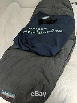 Western Mountaineering Sequoia 6'6 withOverfill 5 Degree Sleeping Bag