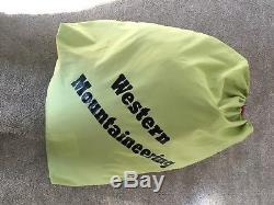 Western Mountaineering Summerlite Sleeping Bag 32 Degree Down