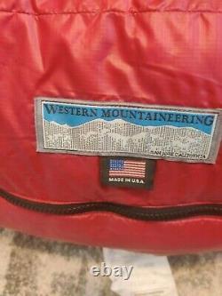 Western Mountaineering Sycamore Sleeping Bag Brand New BNWT