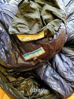 Western Mountaineering Terralite Sleeping Bag 25F Full zip open Ultralight