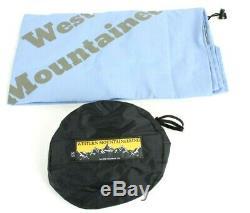 Western Mountaineering UltraLite Sleeping Bag 20F Down 5ft 6in / LZ /51762/