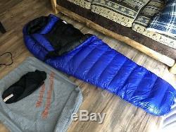 Western Mountaineering UltraLite Sleeping Bag 20 Degree Down 6ft/LZ