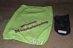 Western Mountaineering Ultralight down sleeping bag