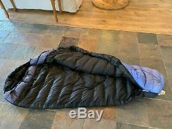 Western Mountaineering, Ultralite 20 degree sleeping bag, size 5'6