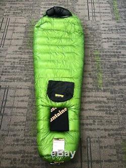 Western Mountaineering Versalite 10F Goose Down Sleeping Bag 6'6 Right Zip