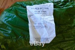 Western Mountaineering Versalite 10 degree F down sleeping bag 6'6