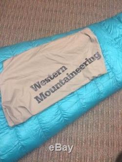 Western Mountaineering Versalite 6'6 10 F Down Sleeping Bag
