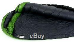 Western Mountaineering Versalite Sleeping Bag 10F Down 6ft 6in/Rt Zip /51645/