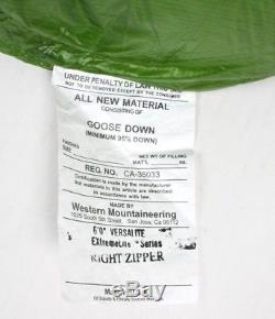Western Mountaineering Versalite Sleeping Bag 10 Degree Down /38989/