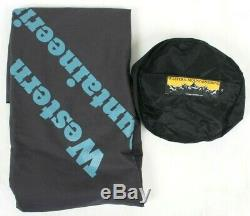 Western Mountaineering Versalite Sleeping Bag 10 Degree Down 6ft/Right /47154/