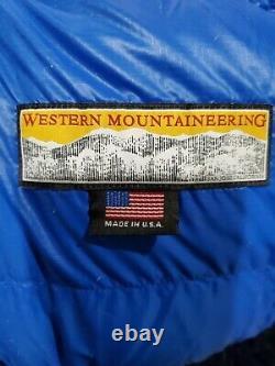 Western mountaineering antelope sleeping bag