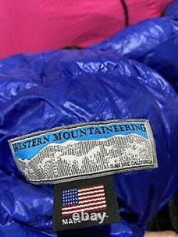 Western mountaineering ultralite extremelite 20f Down Sleeping Bag Right Zipper