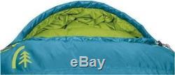 Women's DUCK DOWN Sierra Designs Eleanor 19 Sleeping Bag DriDown Carribean Blue