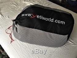 Yeti V. I. B 600 L Glanz Nylon Down filled Sleeping Bag Sac de Couchage Schlafsack