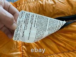 ZPacks 20 Degree Classic Sleeping Bag. Long/Standard. Used one night