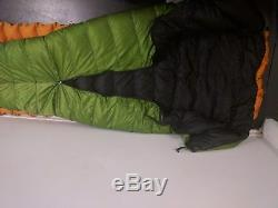ZPacks 30 ° degree sleeping bag quilt hoodless zippable down ultralight