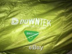 Zerogram High Sierra NX Down Mummy Sleeping Bag New Pertex Quantum Long Right