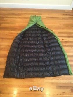 Zpacks 20 Degree Standard Medium Full Zip Sleeping Bag