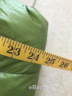 Zpacks Ultralight Premium Goose Down 20F Classic Sleeping Bag Slim/Short