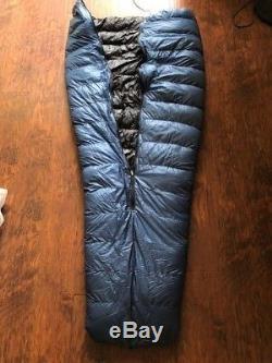 Zpacks sleeping bag 900 Fill Power Down standard 61 6' long 20F Quilt